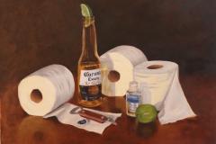 Corona with Toilet Rolls