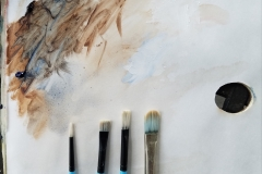 The-Palette-and-Brushes-Used